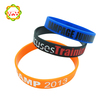 Custom engraved text silicone bracelet,silicone elastic bracelets ,welcomed OEM