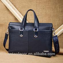 2014 new fashion latest men leather handbag