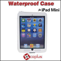 Mcoplus Underwater 8m IP68 Stand Waterproof Diving Protection Cover Case Bag for Apple Ipad Mini Tablet PC