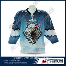 custom fashion professional cheap team Hockey uniform factory