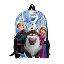 Frozen Anna Elsa school bags Frozen canvas school bags for teenagers