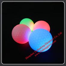 Used Led golf balls wholesalers flashing golf balls