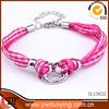 Alibaba wholesale 2014 fashion jewelry initial bracelet elastic