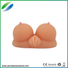 Top selling artificial vagina silicone breast adult sex toy sex doll video
