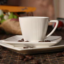 Espresso cups and saucers European style coffee cups and saucers