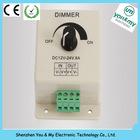 High quality DC24V 8A LED manual dimmer led single color dimmer