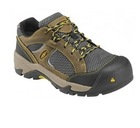 Albany Lowcut Stone Gray/Harvest Gold Waterproof Composite Toe Shoe