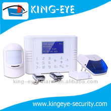 Home guard gsm sms alarm system, battery operated home alarm, wireless anti theft door alarm