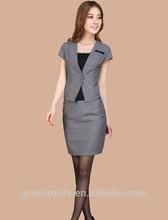 2014 popular ladies office uniform designs
