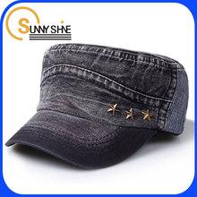 Sunny Shine fashion funny blank rivet men cowboy hat wholesale trucker cap and hat