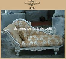 Elegant classic fashion chaise lounge