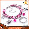 Alibaba wholesale 2014 new product fashion jewelry initial bracelet elastic