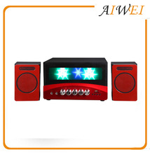 2.1 Creative design multimedia speaker for party disco fashionable design for sale