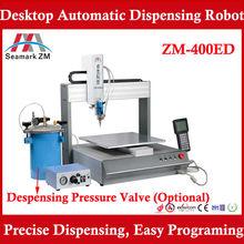 ZM-400ED dispensing glue automatic glue dispenser, liquid glue dispenser
