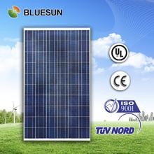 Bluesun 25 years warranty 250w compare solar panels