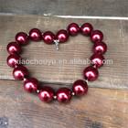 2014 Fashion Bead Jewelry Popular Handmade Kids Plastic Flower Beads Necklace For Girls Gift
