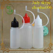 Stock!!! 10ml 15ml 30ml pe needle nose bottle for e liquid