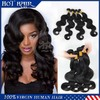 One donor body wave brazilian ombre hair weaves