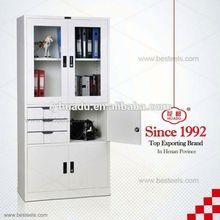 modern corner tv cabinet/ high quality hot sale modern design KD steel cabinet/ 90-degree cabinet hinge