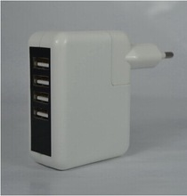 Multi port usb wall charger 5V 2A OEM for European, US, Japan, CA, Thailand, Mexico...