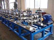 [Rolling Full Line Manufacturer]motor drive rolling forming machine roller former C channel carbon steel hot dip steel roll