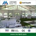 linda festa de casamento tendas 10x24m com piso de madeira