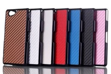 Fiber carbon shell case cover for Sony A2, A2 high quality cellphone case