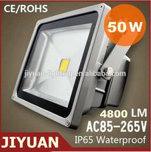 50w led flood light housing ip65 Meanwell LED driver long lifespan Aluminum Alloy+lens materials