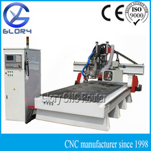Versatile CNC Woodworking Machine with Auto Tool Changer and Gang Drill