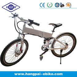 6061 Aluminum Alloy Foldable Mountain Electric Bike with CE (HP-E007)