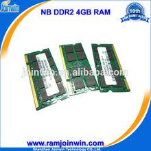 Alibaba express ETT original chips 4gb ddr2 800mhz memory for laptop