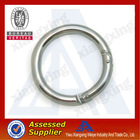 Top quality cheap custom steel round shape keychain no minimum order
