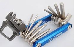 folding bicycle repairing kit / bike tool