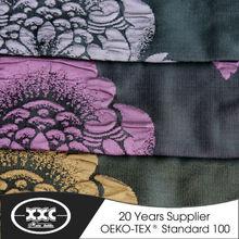 High quality new design popular 100% polyester flower jacquard window curtain