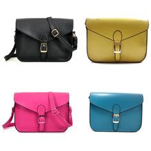 popular handmade leather hand bag & long strap shoulder bag for girls