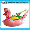Venta caliente de encargo atractivo cisne bote a pedales, palas de padel de china