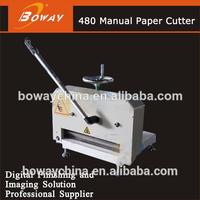 Boway service BW-480 hand operating paper cutting machine price