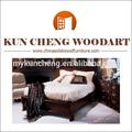 Estilo provinciano francês cama de madeira maciça/alibaba quente vendendo antiguidades camas de madeira sólida