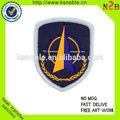 Barato logo empresa personalizado patch bordado