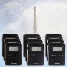 Latest 863-865MHZ UHF Long Distance tour guide language interpretation
