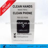 microfiber mobile cleaner, screen sticker, wipe