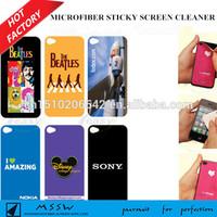 Japan Pu gel ultra fine microfiber mobile cleaner, screen sticker, wipe