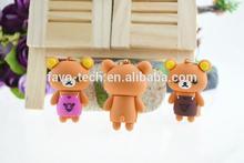 PVC cartoon bear usb pendrive best selling in Dubai