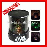 Wholesale - Amazing Flashing Colorful LED Star Master Star Sky light Projector Lamp Night light Lamp