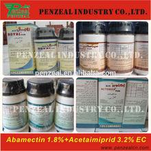 Acetamiprid 32g/l +Abamectin 18g/l EC, Insecticide