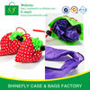 recycle foldable strawberry shopping bag