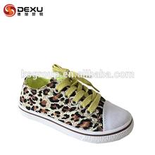 el más nuevo diseño de leopardo de impresión de imitación zapatos de gamuza