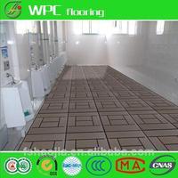 Factory direct sale wooden touch garden/yard diy flooring