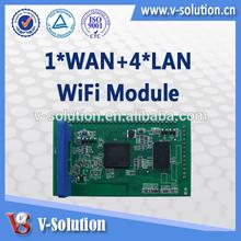USB, GPIO, I2C, SPI, I2S interfaces AR9331 wifi module , 150Mbps wlan module