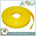 1.5 de pulgada de pvc flexible de la manguera